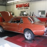 Customers classic mustang