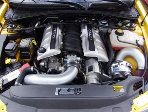 Procharger installed in a GTO
