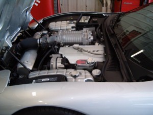 Supercharged 2003 Corvette by Kennedy's