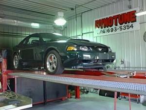 Supercharged Ford Mustang Bullitt