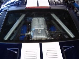 GT40 rear view