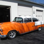 Kennedy's works on classic cars as well