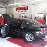 Customer Mustang on Dyno