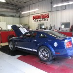 GT500 Mustang on Kennedy's Dyno