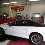 Customers Camaro Z28 on Dyno