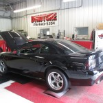 Mustang on Kennedy's Dyno