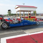 Kennedy's Dynotune sponsored dragster