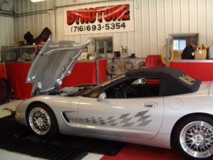 Supercharged LS1 Corvette at Kennedy's Dynotune