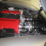 Procharged Z06 engine