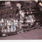 2006 Supercharged z06 engine compartment