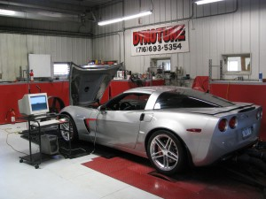 Supercharged 2006 Corvette Z06