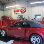 Kenne Bell 2.8 L supercharger on 2004 Mustang GT